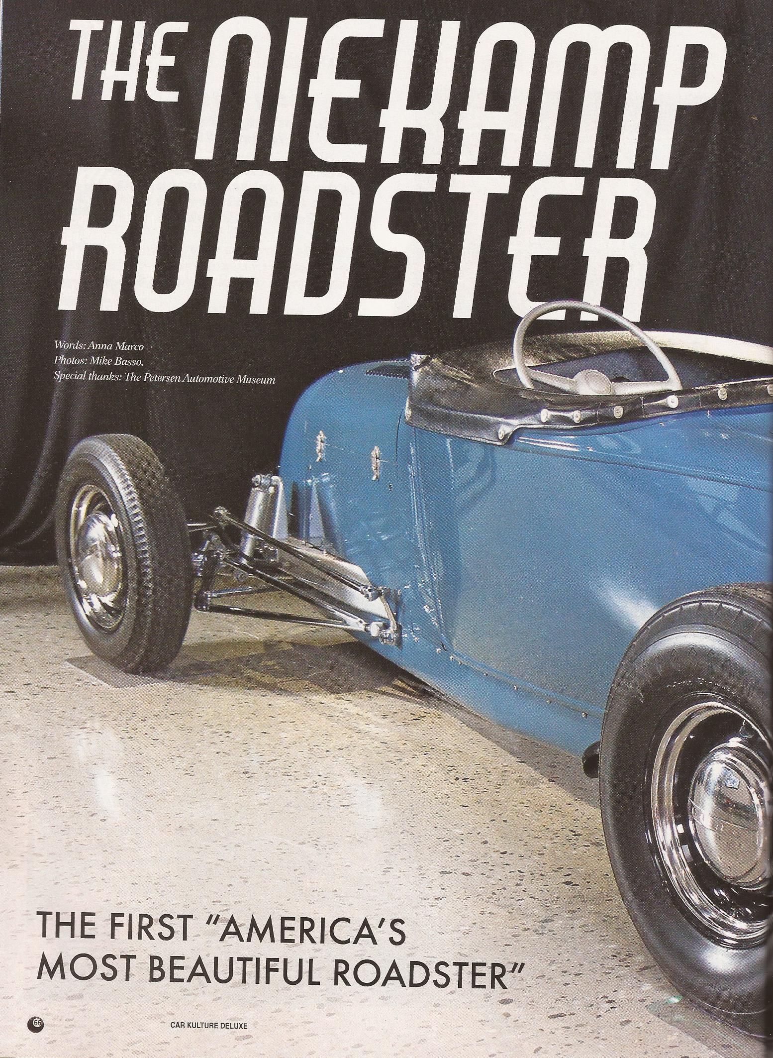 Car Kulture Deluxe Magazine KUSTOM INK