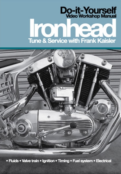 Ironhead Service and Tune DVDs