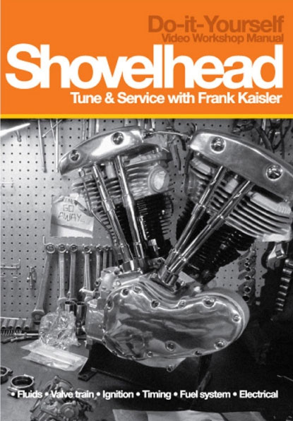 Shovelhead Service and Tune DVDs